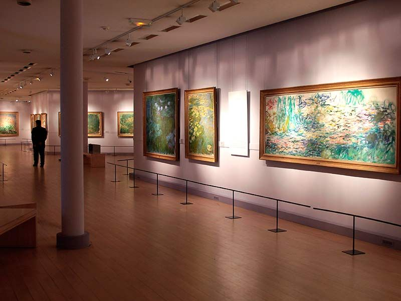 """VERNISSAGE EXPO:""""MONET SON MUSEE """"AU MUSEE MARMOTTANT MONET"""